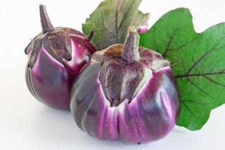 Melanzana tonda violetta l'Ortofruttifero