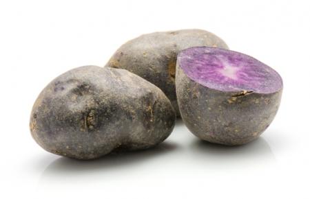 Patata pasta viola l'Ortofruttifero